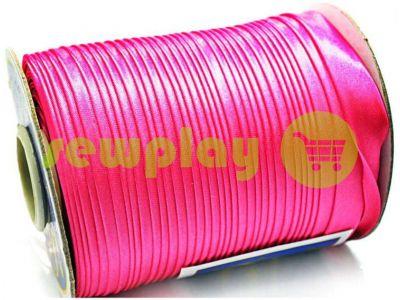 Bias binding Bias Star satin bright pink sku 674