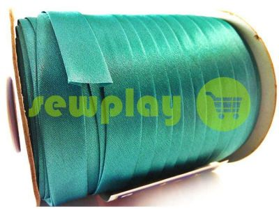 Bias binding Bias Star satin turquoise sku 688