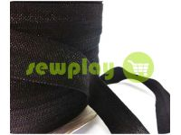 Bias binding stretch black sku 704