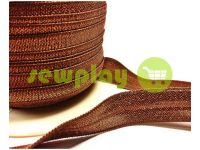 Bias binding stretch brown
