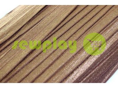 Bias binding stretch brown sku 709