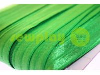 Bias binding stretch green