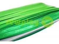Bias binding stretch green sku 716