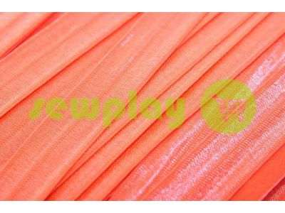 Bias binding stretch bright red
