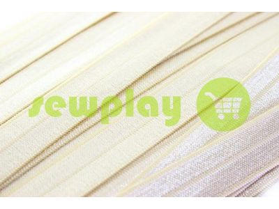 Bias binding stretch light beige sku 722