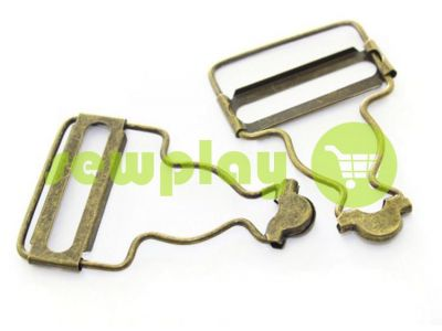 Carabiner buttons Loop antique 33 mm sku 736