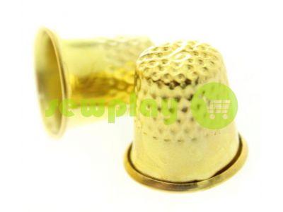 Наперсток металлический d=17mm золото арт 748