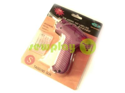 Gun setting label with a set of spare needles sku 751