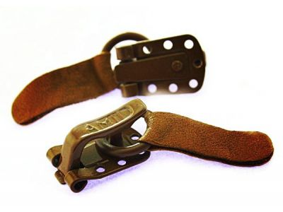 Clasp for coats Amll brown sku 755
