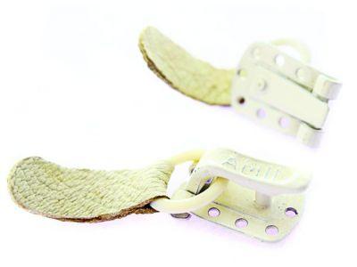 Крючек шубный Amll белый арт 757