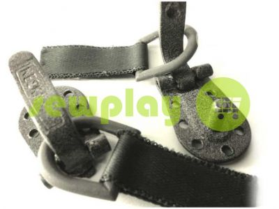 Clasp for coats Keska light gray hammer sku 762