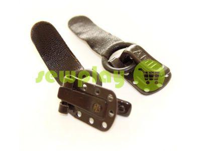 Крючек шубный Amll темно-коричневій арт 769