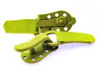 Застібка для шуб Keska зелена