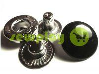 Кнопка NEWSTAR-Альфа фарбована гладка 15 мм Туреччина 720 шт