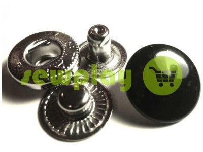 Кнопка NEWstar-Alfa крашенная гладкая 15 mm Турция 720 шт арт 785