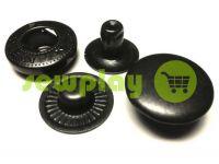 Кнопка NEWstar-Alfa VT-2 гладкая 9,5 mm оксид Турция, 72 шт