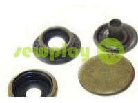Button NEWstar №61 smooth 15 mm antique Turkey, 72 pcs sku 807