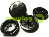 Button Minus №61 plastic 17 mm Turkey, 100 pcs
