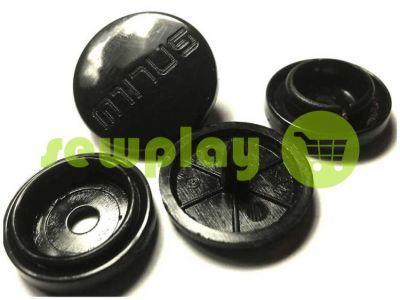 Кнопка Minus №61 пластиковая 17 mm Турция, 100 шт арт 823