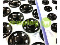 Кнопка HuaTai пришивная металлическая черная 8,5 mm 50 шт арт 827