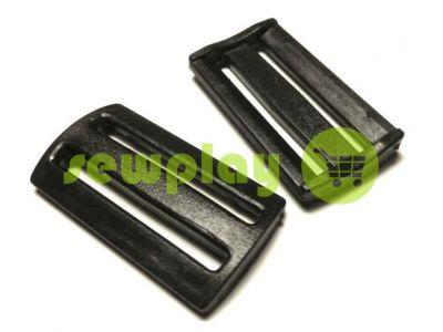 Plastic double-slit limiter 50 mm the black sku 857