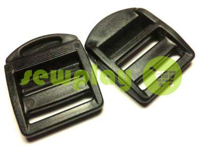 Limiter plastic power three slits 25 mm the black sku 858