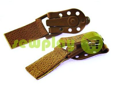 Clasp for coats Keska brown sku 1818