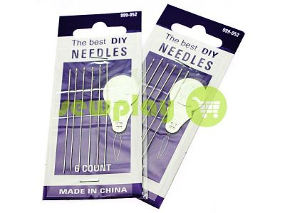 A set of professional hand needles Best 999-052 6 needles sku 2155