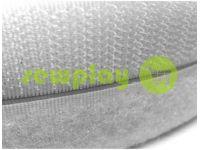 Velcro textile, color white