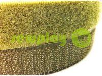 Липучка текстильная, цвет оливковый