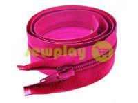 Молния витая тип 5 на один бегунок 40 см - 85 см, цвет розовый 278