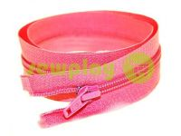 Молния витая тип 5 на один бегунок 40 см - 85 см, цвет розовый 315