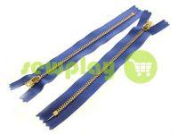 Блискавка джинсова YKK тип 4.5, довжина 12 см, 18 см, колір темно-блакитний