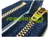 Блискавка джинсова YKK тип 4.5, довжина 12 см, 18 см, колір індиго