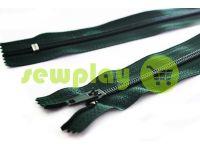 Молния брючная спиральная 18 см тип 4, цвет зеленый 212