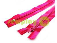 Молния брючная спиральная 18 см тип 4, цвет розовый 009