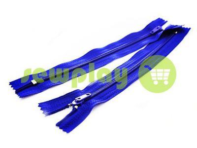 Молния брючная спиральная 18 см тип 4, цвет голубой 065 арт 1569