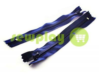 Молния брючная спиральная 18 см тип 4, цвет синий 071 арт 1570