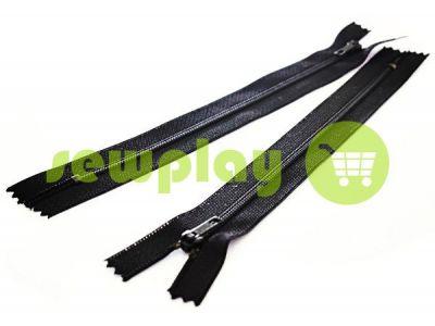 Молния Барышевская брючная спиральная 18 см тип 4, цвет черный