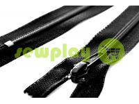 Zipper Baryshevskaya strengthened shoe spiral 10 cm - 60 cm type 6, color black sku 1588