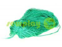 Шнур для одежды 5 мм пустотелый, цвет зеленый 080
