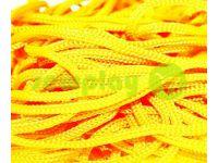 Шнур для одягу 5 мм пустотілий, колір жовтий 029