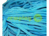 Шнур для одягу 5 мм пустотілий, колір блакитний 059