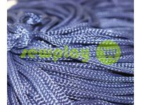 Шнур для одягу 5 мм пустотілий, колір синій 071