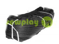 Молния спиральная усиленная рулонная черная тип 7