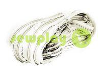 Молния спиральная рулонная белая тип 3, тип 5, тип 7, тип 8, тип 10