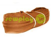 Молния спиральная рулонная коричневая тип 3, тип 5, тип 7, тип 8, тип 10