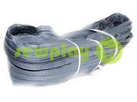 Молния спиральная рулонная серая тип 3, тип 5, тип 7, тип 8, тип 10
