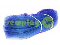 Молния спиральная рулонная голубая тип 3, тип 5, тип 7, тип 8, тип 10
