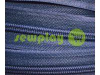 Молния спиральная рулонная синяя тип 3, тип 5, тип 7, тип 8, тип 10